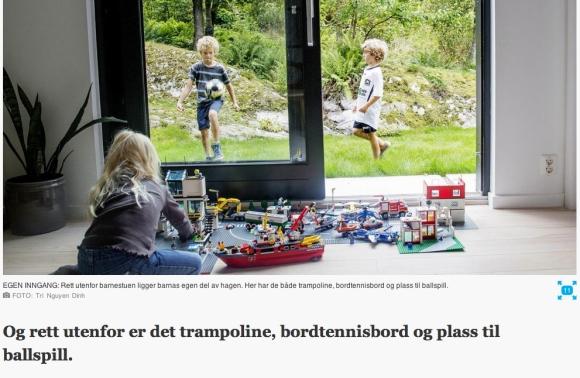 Sist uke hadde Aftenposten en fin artikkel om barneromsavdelingen vår skrevet av Kjersti Busterud og Tri Nguyen Dinh (foto).